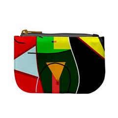 Abstract Lady Mini Coin Purses