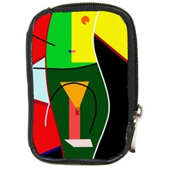 Abstract Lady Compact Camera Cases by Valentinaart