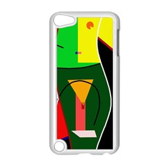 Abstract Lady Apple Ipod Touch 5 Case (white) by Valentinaart