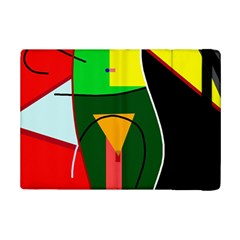 Abstract Lady Ipad Mini 2 Flip Cases by Valentinaart