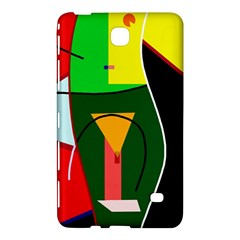 Abstract Lady Samsung Galaxy Tab 4 (8 ) Hardshell Case
