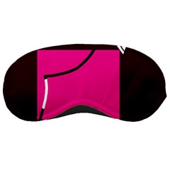 Pink Square  Sleeping Masks by Valentinaart