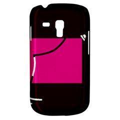 Pink Square  Galaxy S3 Mini by Valentinaart