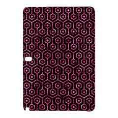 Hexagon1 Black Marble & Pink Marble Samsung Galaxy Tab Pro 12 2 Hardshell Case by trendistuff