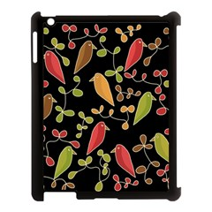 Flowers And Birds  Apple Ipad 3/4 Case (black) by Valentinaart