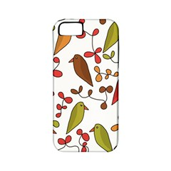 Birds And Flowers 3 Apple Iphone 5 Classic Hardshell Case (pc+silicone) by Valentinaart