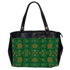 Magic Peacock Night Office Handbags (2 Sides)  by pepitasart