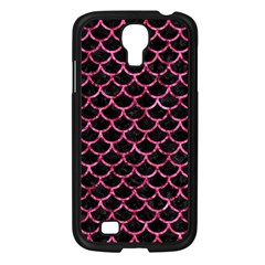 Scales1 Black Marble & Pink Marble Samsung Galaxy S4 I9500/ I9505 Case (black) by trendistuff