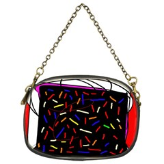 Color Tv Chain Purses (one Side)  by Moma