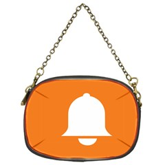Bell Orange Copy Chain Purses (one Side)