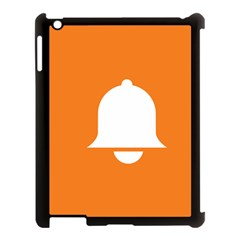 Bell Orange Copy Apple Ipad 3/4 Case (black)