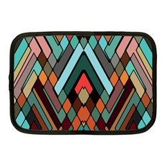 Abstract Mosaic Color Box Netbook Case (medium)  by AnjaniArt