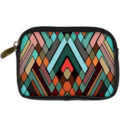 Abstract Mosaic Color Box Digital Camera Cases by AnjaniArt