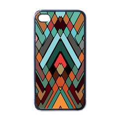 Abstract Mosaic Color Box Apple Iphone 4 Case (black) by AnjaniArt