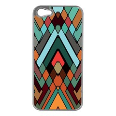 Abstract Mosaic Color Box Apple Iphone 5 Case (silver) by AnjaniArt