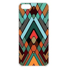 Abstract Mosaic Color Box Apple Iphone 5 Seamless Case (white)