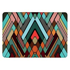Abstract Mosaic Color Box Samsung Galaxy Tab 8 9  P7300 Flip Case by AnjaniArt