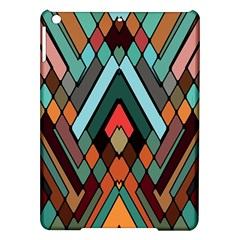 Abstract Mosaic Color Box Ipad Air Hardshell Cases by AnjaniArt