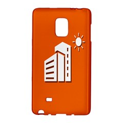 Building Orange Sun Copy Galaxy Note Edge by AnjaniArt