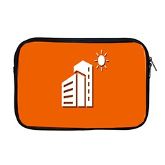 Building Orange Sun Copy Apple Macbook Pro 17  Zipper Case