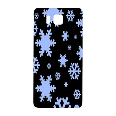 Blue Black Resolution Version Samsung Galaxy Alpha Hardshell Back Case