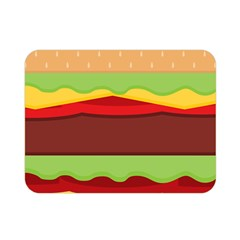 Cake Cute Burger Copy Double Sided Flano Blanket (mini)