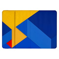 Box Yellow Blue Red Samsung Galaxy Tab 8 9  P7300 Flip Case