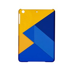 Box Yellow Blue Red Ipad Mini 2 Hardshell Cases by AnjaniArt