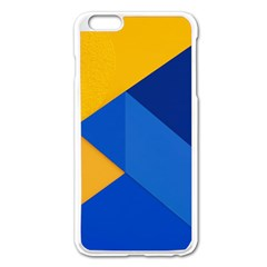 Box Yellow Blue Red Apple Iphone 6 Plus/6s Plus Enamel White Case