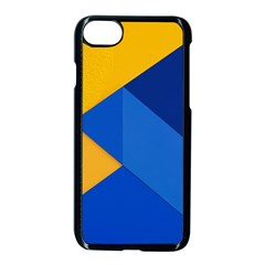 Box Yellow Blue Red Apple Iphone 7 Seamless Case (black) by AnjaniArt