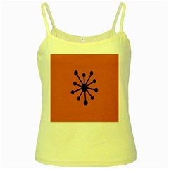 Centralized Garbage Flow Yellow Spaghetti Tank