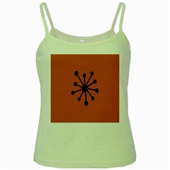 Centralized Garbage Flow Green Spaghetti Tank by AnjaniArt