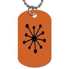 Centralized Garbage Flow Dog Tag (one Side) by AnjaniArt