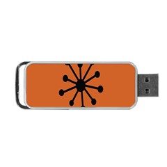 Centralized Garbage Flow Portable Usb Flash (one Side) by AnjaniArt