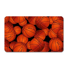 Basketball Sport Ball Champion All Star Magnet (rectangular) by AnjaniArt