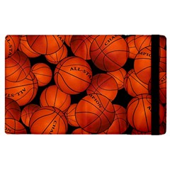 Basketball Sport Ball Champion All Star Apple Ipad 3/4 Flip Case by AnjaniArt