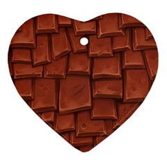 Chocolate Ornament (heart)