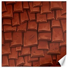 Chocolate Canvas 16  X 16   by AnjaniArt