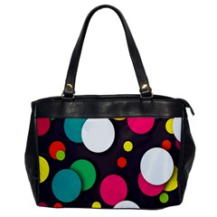 Color Balls Office Handbags by AnjaniArt