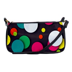 Color Balls Shoulder Clutch Bags by AnjaniArt