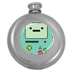 Cute Calculator Round Hip Flask (5 Oz)