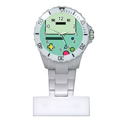 Cute Calculator Plastic Nurses Watch