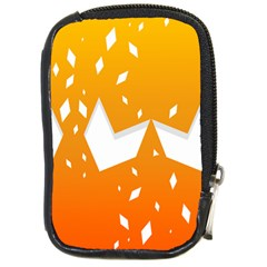 Cute Orange Copy Compact Camera Cases