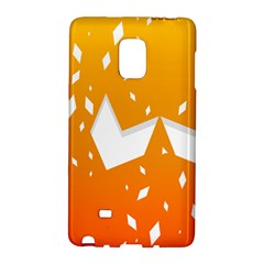 Cute Orange Copy Galaxy Note Edge by AnjaniArt