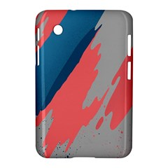 Colorful Samsung Galaxy Tab 2 (7 ) P3100 Hardshell Case  by AnjaniArt