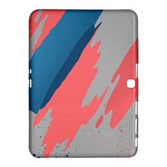 Colorful Samsung Galaxy Tab 4 (10 1 ) Hardshell Case  by AnjaniArt