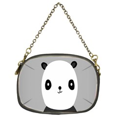 Cute Panda Animals Chain Purses (two Sides)