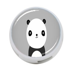 Cute Panda Animals 4 Port Usb Hub (two Sides)