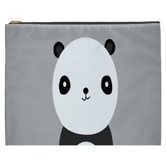 Cute Panda Animals Cosmetic Bag (xxxl)