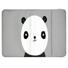Cute Panda Animals Samsung Galaxy Tab 7  P1000 Flip Case